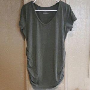 Dark Green Maternity shirt
